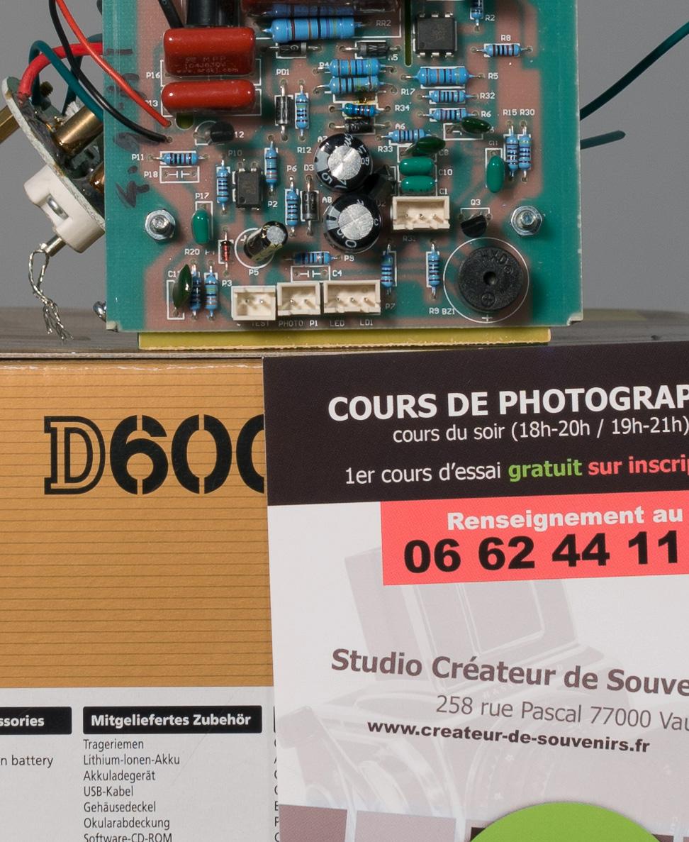 Sigma Art 35mm /1.8 monté sur D7200
