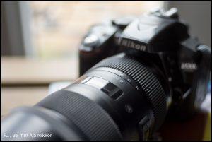 Nikon 35mm AIS F/2